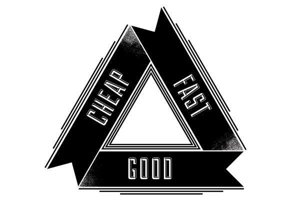 Fast Cheap Good – Studio motivation