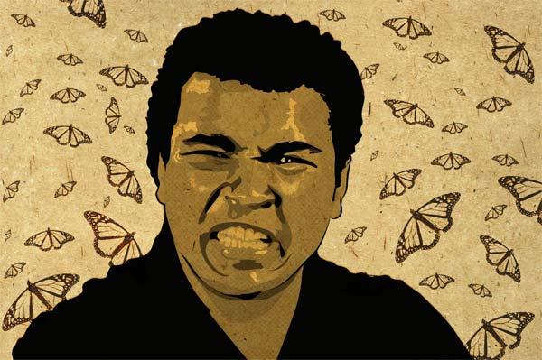 Fly Like A Butterfly… Muhammad Ali
