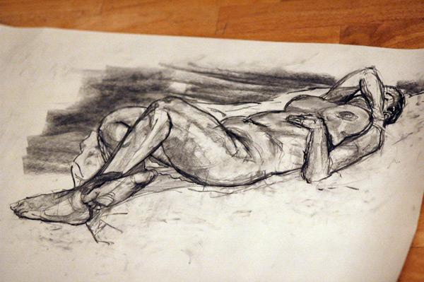 Life Drawing: Week 4