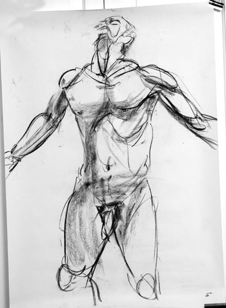 Life Drawing: Week 14 – Finding a new perspective