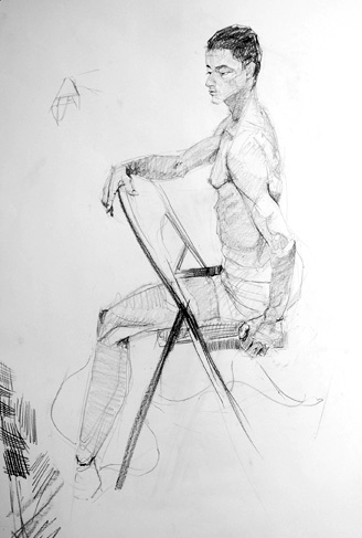 Life Drawing: Week 21 – Poses with movement