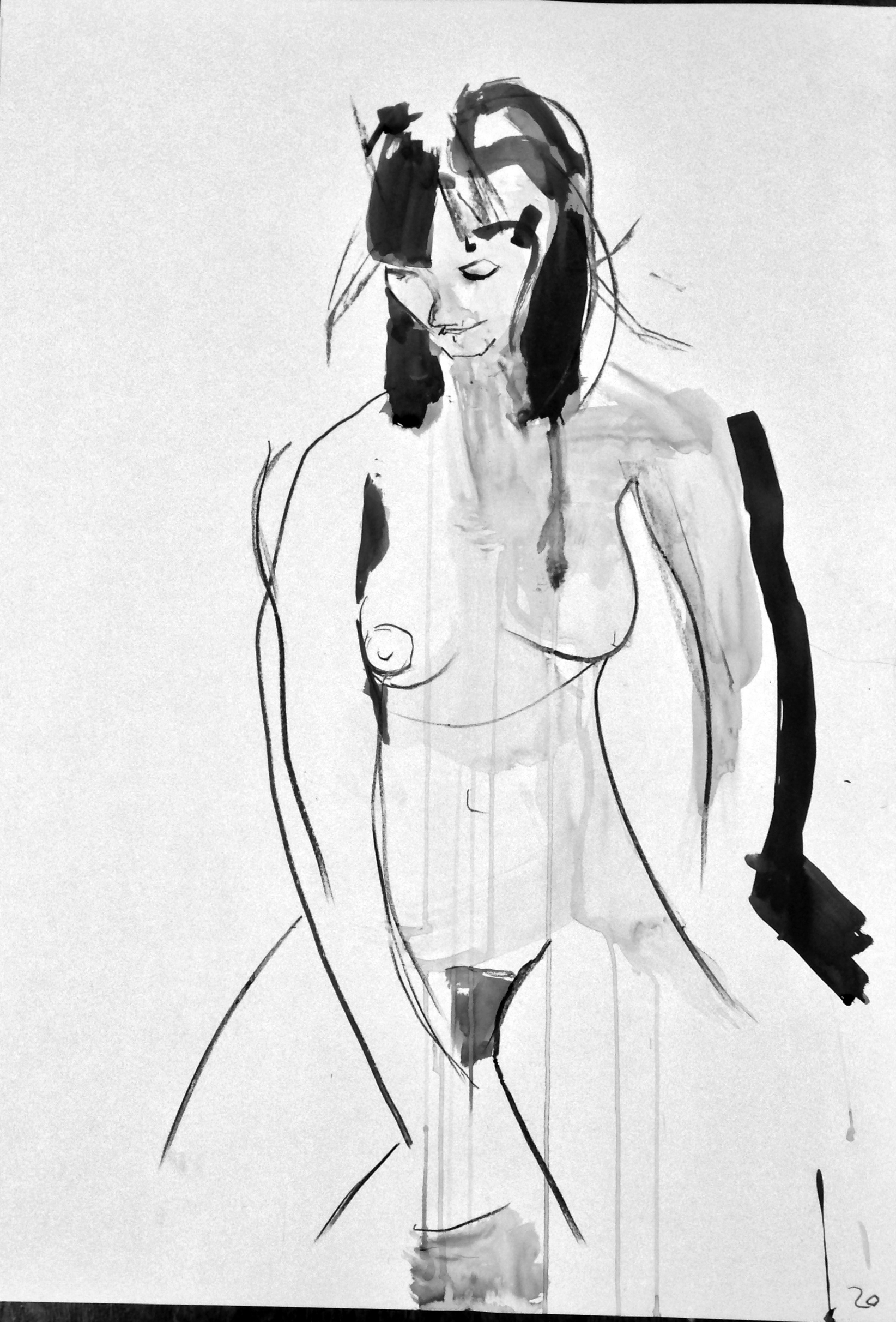 Life Drawing: Week 36 – Less is more