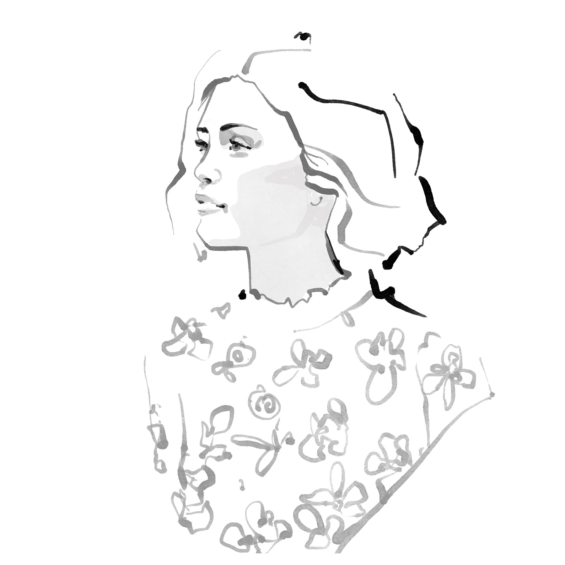 Inktober Fashion Illustrations – Week 1